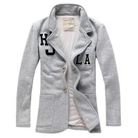 Hot sale free shipping causal slim fit single breasted men blazers fashion blazers suits for men M L XL XXL XXXL