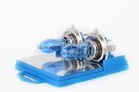 12V HOD XENON H4 100/90W 5500K SUPERWHITE HEADLIGHT CAR/AUTO WHITE GLOBES/BULBS