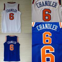 Free Shipping S-XXL New York 6 Tyson Chandler Jerseys, Cheap 2013 REV 30 Embroidery Logo Tyson Chandler Basketball Jersey