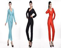Sexy Women Slim Corset Deep V-Neck Jumpsuit Romper Playsuit Party Clubwear
