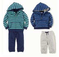 2014 new arrive children clothing set autumn set boys jacket+pants tracksuit set children clothes set sport suit 5sets/lot