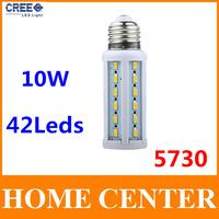 10W 42leds Corn Bulb  E27 Led 220V SMD 5730  Led Lamp Led bulb spotlight  warm white cold white bulb with tracking number