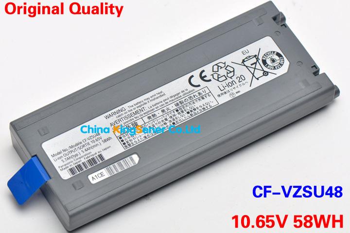 Original Quality Japanese Cell New Laptop Battery for Panasonic CF-VZSU28 CF-VZSU48 CF-VZSU48U CF-VZSU50 CF-19 CF19 Toughbook(China (Mainland))