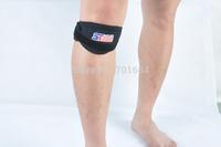Free Shipping New Basketball Kneecap Sponge Knee Leg Elastic Wrap Pad Protector Guard Band [TY100]