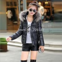 2014 New Thick Down Jacket Collar Nagymaros Authentic Korean Female Short Paragraph Slim Padded Coat Big Yards  #514