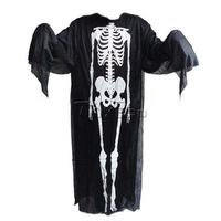 Scary Skeleton Pirate Design Devil Ghost Costume Adult Size for Masquerade Party Halloween Cosplay Costume