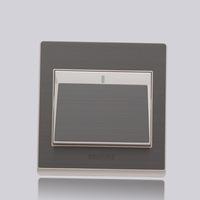 New 86 type 220v 10A Wall light switch panel 1open 1 way 1pcs
