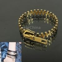 Zipper Design Cuff Bangle Bracelet Wrist Decoration Jewelry