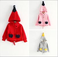 2014 autumn new magic hats, boys and girls children's magic hat fleece sweater coat sweater