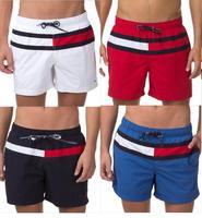 T-M Classic New 2014 summer Men casual beach stripe shorts/Beach casual & sport boardshorts swim men Beach swimwear shorts