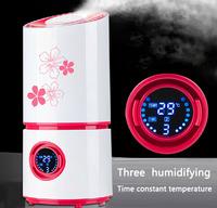 Free shipping 2014 home air humidifier mini antiseptic oxygen bar Spray ultrasonic humidifier aromatherapy pure anion