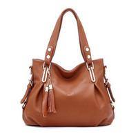 2014 hot women leather handbag new fashion shoulder bag women messenger bags female joker crossbody bag women totes