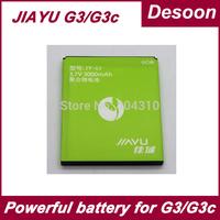 Ship from Russia JIAYU G3c G3S strong battery 3000mAh 3.7V Lithium-ion for JIAYU G3C