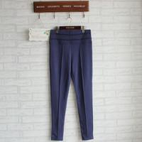 Women's Harem Pants Fleece Sweatpants Slim casual cotton elastic waistband pants of multi-pencil pants Hip-Hop Pants
