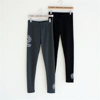 NEW European style Winter plus velvet fashion ladies casual long pant, women's trouser pants