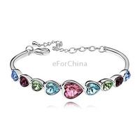 Beaded Style Adjustable Bracelet / Shamballa Bracelet / Disco Bracelet