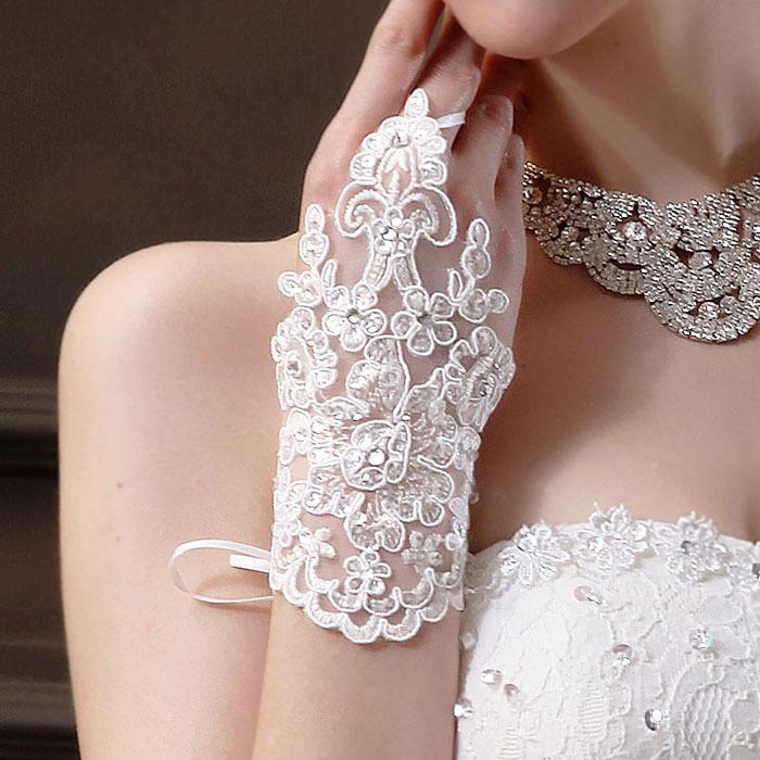 Свадебные перчатки Feitong