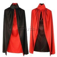 1.4m Death Vampire Cloak for Masquerade Party Halloween Cosplay Costume Adult Size