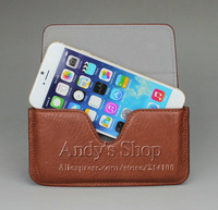 New fashion Leather Cases Pouch Holster Belt Loop Clip Magnetic Button Closure Covers for iPhone 6 (4.7inch)