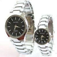 Man Watch Lovers For Elegant Stainless Steel Luxury Popular Fashion Quartz Lovers Unisex Girl Unisex Dropship Wholesale