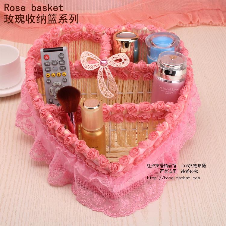 Acrylic Makeup Organizer Large Cosmetics Receive A Box of South Korea's Desktop Remote Control Box/rural The Cane Makes Up(China (Mainland))