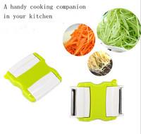 Free Shipping! Slicer Vegetable Cutter Kitchen Essential Multifunction Vegetable Fruit Peeler Scraper Plane Cutter Cooking Tool