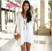 2014 New Fashion Women Dress Loose vestidos Sexy Chiffon Dresses