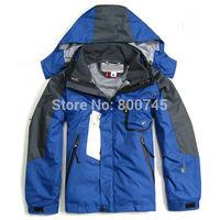 Free Shipping Outdoor Sports Kid's Fleece Jacket Boy's Girl's Winter Windproof Waterproof Coats Brand Children Outerwear XS-XXL