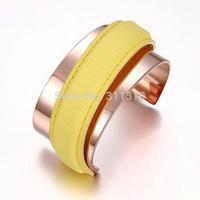 B014356Y   New Beautiful Male Female bracelets, leather bracelets bangles / pulseras wholesale Free Shipping