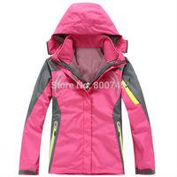Free Shipping Women Winter Outdoor Sports Jacket Coats Fashion Ladies Windproof Waterproof Warm Ski Clothes