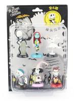 The Nightmare Before Christmas Barrel Jack Zere Sally Lock PVC Figure Model Toy