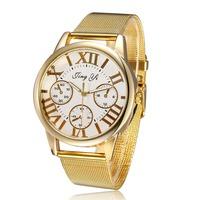 2014 Roman Number Women Dress Watch relogios femininos Quartz Ladies Watch Wristwatches