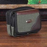 Hot Sale 2014 High Quality Men Waist Bag Outdoor Sports Belt Bag Small Canvas Bag Portable Women Waist Bag