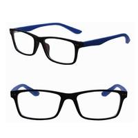 2015 designer myopia reading glasses frame 6 colors plain mirror men/women optical eyeglasses frame with logo oculus de grau