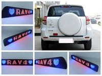 DIY LED Brake Light car styling the third brake light Compose your favorite words Personalized lada kalina lada mazda 3 toyota