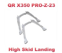Free Shipping QR X350 PRO-Z-23 Upgrade High Skid Landing for Walkera QR X350 Pro Quadcopter