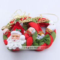 Wholesale Christmas decorations cloth garland door hanger 20pcs/lot mixed style free shipping
