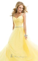 New Chiffon Sexy Long Prom Dress Evening Formal Party Wedding Ball Gowns