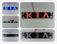 2014 Hot high quality Car styling third Single Row brake light LED light effectively prevent rear-end parking Light for KIA