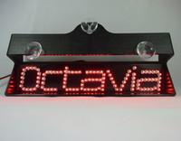 2014 high quality Car styling Single Row Second  brake light LED light effectively prevent rear-end parking Light for Octavia