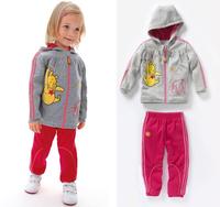 New arrive wholesale children sport suit 2pcs set children cloth brand children clothing sport set children autumn set 5sets/lot