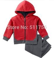 children Casual tracksuit clothing boys shampooers hooded jacket set girls sports suit hoodies pants autumn clothing sweatshirt