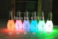 5pcs free shipping New Nail Enamel 12 Color 15ml Nail Polish Fluorescent Luminous Neon Nail Polish Glow in Dark Nail Varnish