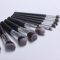 10pcs Professional Cosmetic Makeup Brushes Set Foundation Brush Eyeshadow brush