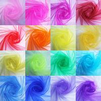 2014 Hot Selling 0.75*5M unit 18corlors For Choose Sheer Mirror organza Stiff Fabric For Wedding Drape Decoration Discount