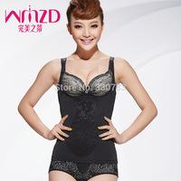 2014 new women postpartum body weight loss espartilhos hot wrap body shapers waist training corsets for sale XL-3XL