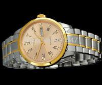 Details about Debert sapphire glass mens watch day/date CITIZEN Miyota 8205 movement 7022-1