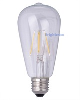 220V 4W LED bulb E27 antique edison bulb LED edison bulb ST64