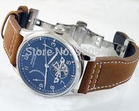 Details about 43mm Parnis ST 2505 Power Reserve automatic mens watch deployment buckle P234