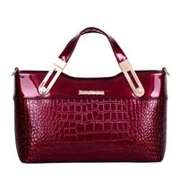 High Quality Crocodile Leather Bag Women handbag Shoulder bags handbags woman Designer Women messenger bags Women's Tote Bolsas